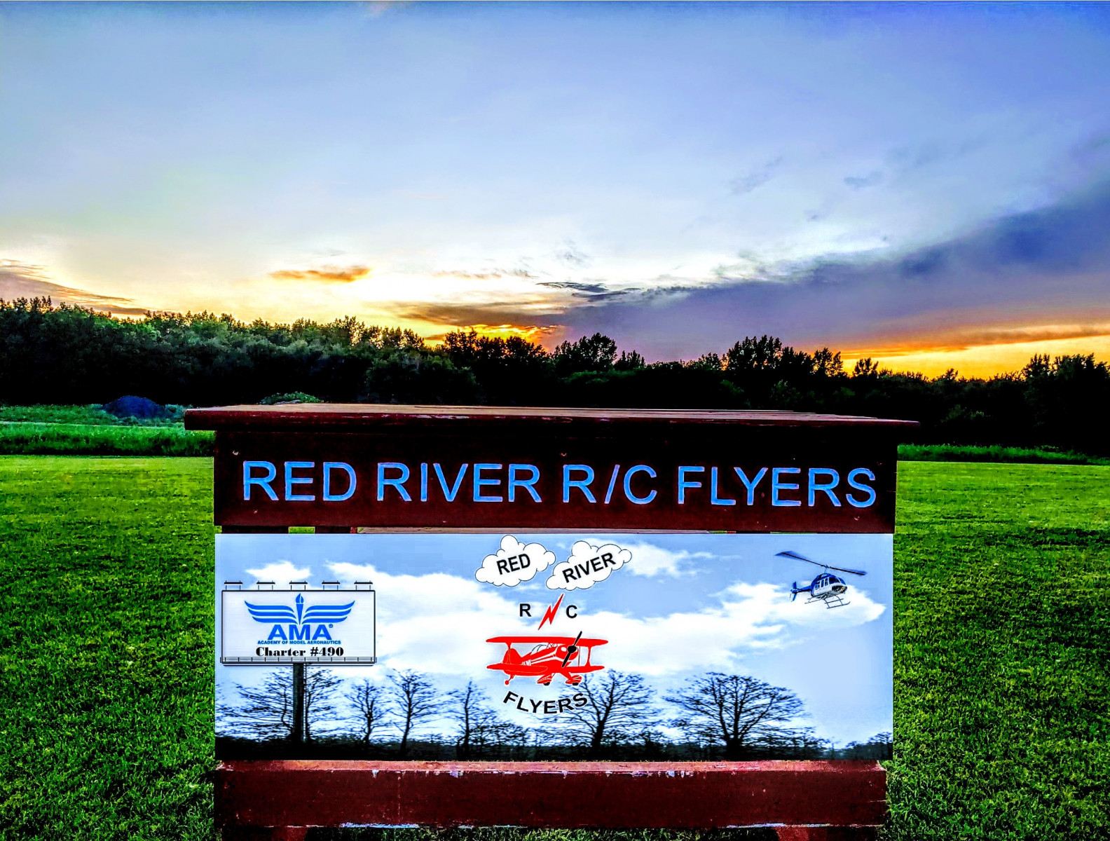 Red-River-RC-Flyers-Bench-Sign-BluePOP
